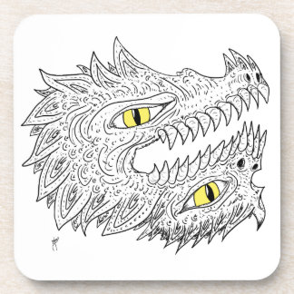 Double Dragon Drink Coasters