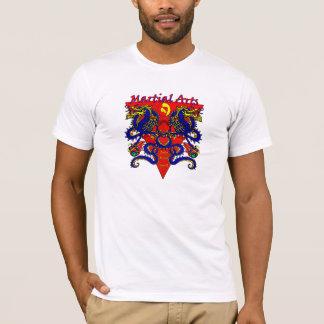 Double Dragon Martial Arts T Shirt