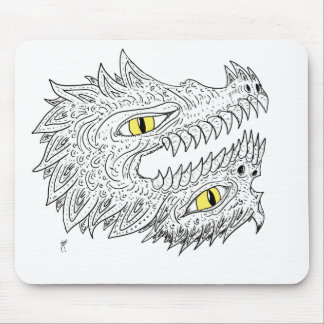 Double Dragon Mouse Pads