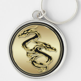 Double Dragon Premium Keychain