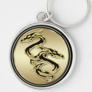 Double Dragon Premium Keychain