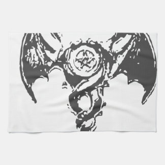 double dragon tea towel