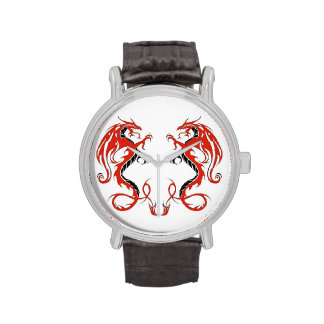 Double-Dragon Vintage Watch