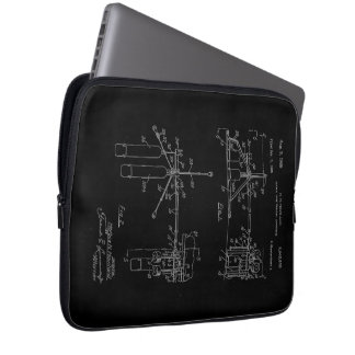 Double Drum Beating Apparatus Laptop Computer Sleeves