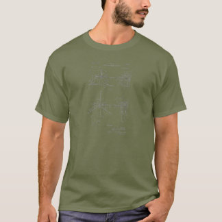 Double Drum Beating Apparatus T-Shirt