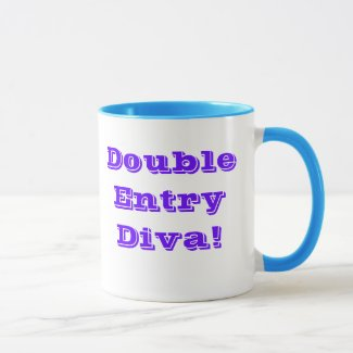 Double Entry Diva! Coffee Mug