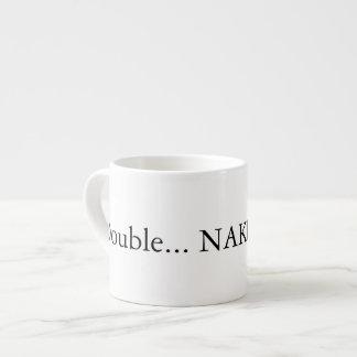 Double espresso straight up espresso mug