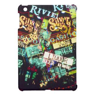 Double exposure, casino signs, Las Vegas, iPad Mini Cases