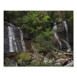 Double Falls Photographic Print
