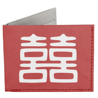 Double Happiness • Bold Billfold Wallet