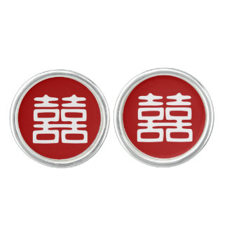 Double Happiness • Bold Cufflinks