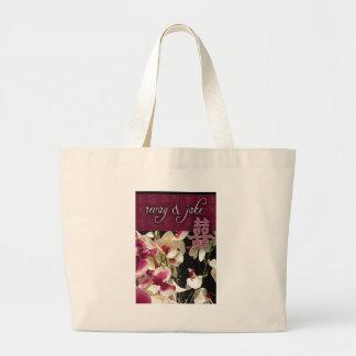 Double Happiness Custom Couple design Bag