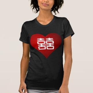 Double Happiness • Heart Tshirts