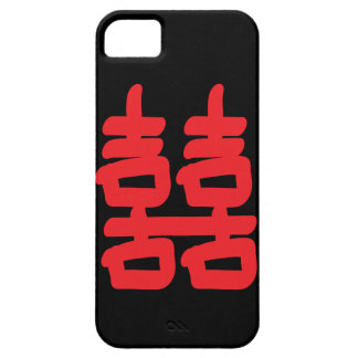 Double Happiness in Red Case iPhone 5 Cases