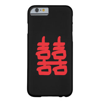 Double Happiness in Red Case Barely There iPhone 6 Case