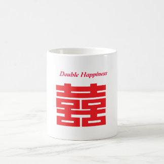 Double Happiness Basic White Mug