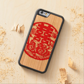 """""""Double Happiness Phone Case"""" Cherry iPhone 6 Bumper"""
