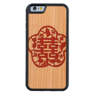 """Double Happiness Phone Case"" Cherry iPhone 6 Bumper Case"