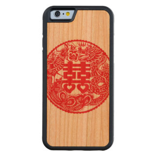 """""""Double Happiness Phone Case"""" Cherry iPhone 6 Bumper Case"""