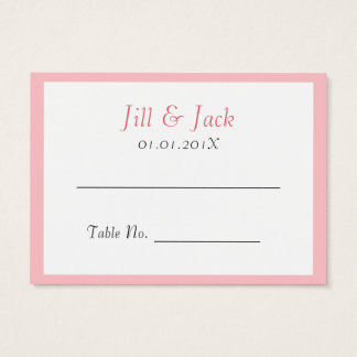 Double Happiness • Round • Place Cards