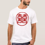 Double Happiness • Round T-Shirt
