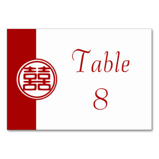 Double Happiness • Round Table Cards