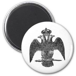 Double-headed eagle magnet