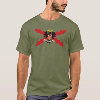 DOUBLE-HEADED EAGLE THIRD, THIRD, SPANISH, CROSS T-Shirt