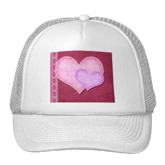 Double Heart Trucker Hat