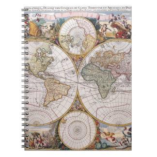 Double Hemisphere Polar Map Notebook