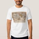 Double Hemisphere World Map, 1587 Shirts