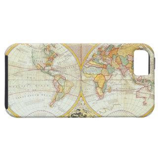 Double Hemisphere World Map iPhone 5 Case