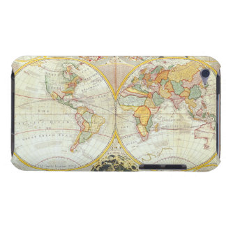 Double Hemisphere World Map iPod Touch Cases