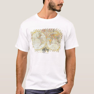 Double Hemisphere World Map T-Shirt