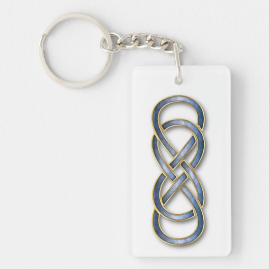 Laura periodic table name keyring zazzle double infinity cloisonne bluegold key chain urtaz Gallery