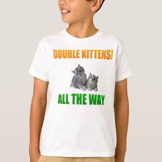 Double Kittens Tshirts