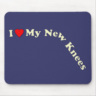 Double Knee Replacement Gifts | Get Well Mouse Pad