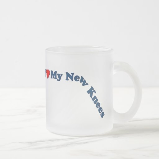 Double Knee Replacement Gifts   Get Well Mugs