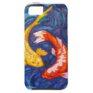 Double Koi Fish Design Tough iPhone 5 Case