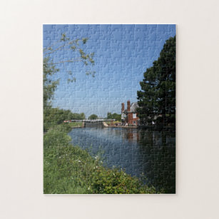 Double Locks Inn, Exeter, Devon, UK Jigsaw Puzzle