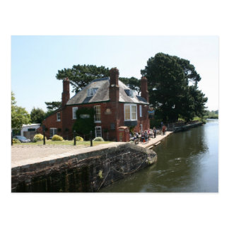 Double Locks Inn, Exeter, Devon, UK Postcard
