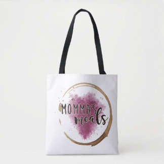 Double Logo Momma's Meals Medium Grocery Tote