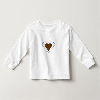 Double Love Heart Toddler T-Shirt