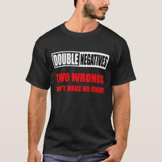 Double Negatives (Dark) T-Shirt