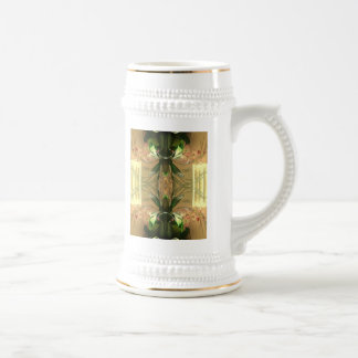 Double Orchid Beer Stein