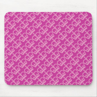 Double Pink Crowns Mouse Pad