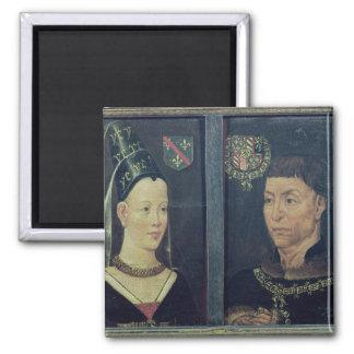 Double portrait of Charles le Temeraire  Duke Magnet
