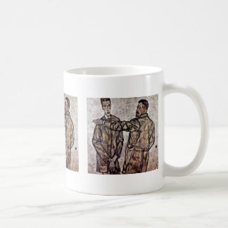 Double Portrait Of Heinrich Bensch And His Son Mugs