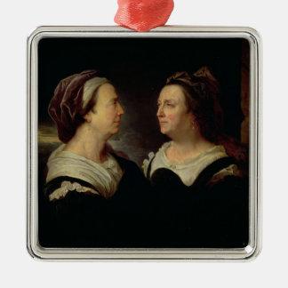 Double Portrait of Marie Serre Christmas Ornament