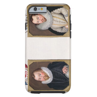 Double portrait of Sir Francis Drake (c.1540-96) a iPhone 6 Case